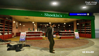 Dead rising sickle zombie cop leg amputated (2)
