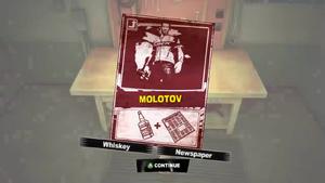 Dead rising 2 case 0 scratch card molotov