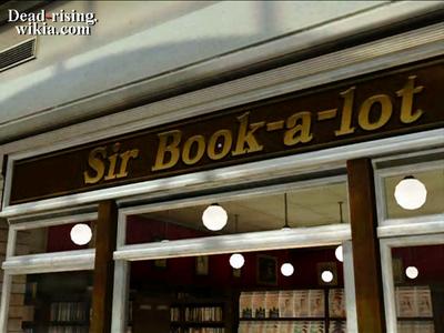 Dead rising pp sir books a lot sign