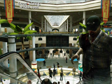 Dead rising zombies entrance plaza top of escalator looking down