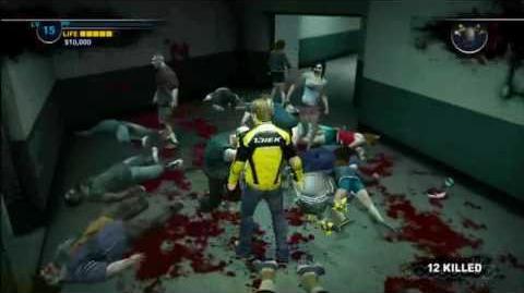 Dead Rising 2 Drill Bucket Gameplay HD