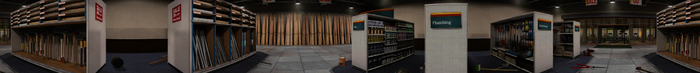 Dead rising PANORAMA McHandys Hardware COMPLETE