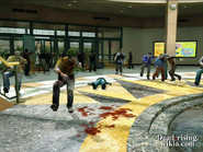 Dead rising gumball machine slip and fall