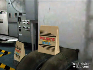 Dead rising achievement clothes in security location