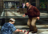 Dead rising survivors Alan Peterson Kathy Peterson casualties in breach at beginning of game