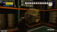 Dead rising warehouse cardboard box opening