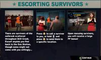 Dead rising 2 case 0 escorting survivors screen