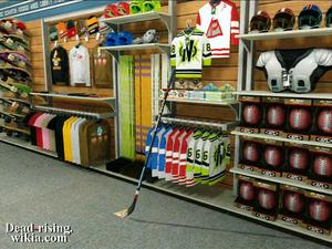 Dead rising shootingstar sporting goods hockey stick