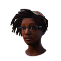 Claudette ColorfulHeadscarf