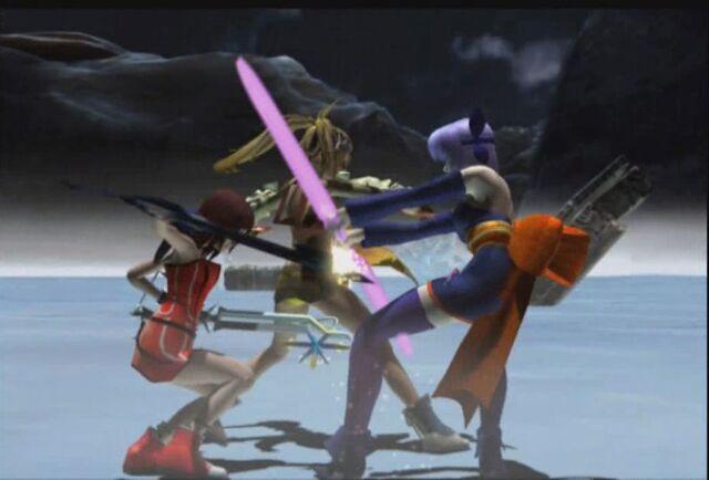 File:Rikku & Kairi vs Ayane.jpg