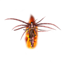 Flaming Wraith