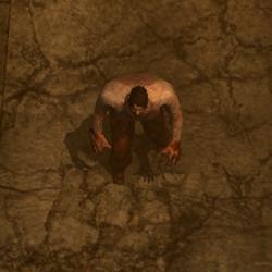 Fat Male Zombie