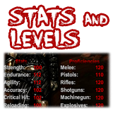 """Stats and Levels"""