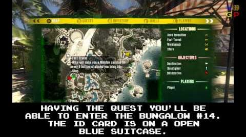 Dead Island - Id Card 22 Location