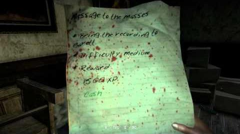 Dead Island Walkthrough - Side Quest - Message to the Masses