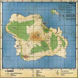 Banoi Island Map