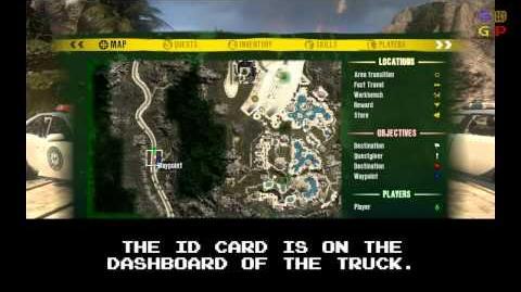 Dead Island - Id Card 25 Location