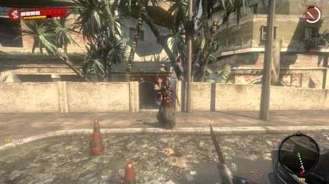 Dead Island Developer 1 Craft - Electro Military Knife (Orange Skull)
