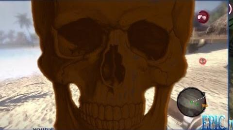 Dead Island Brown Skull *BEST QUALITY* Location & Drop Off FUNNY!