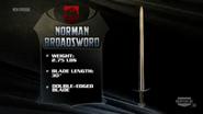 Norman broadsword