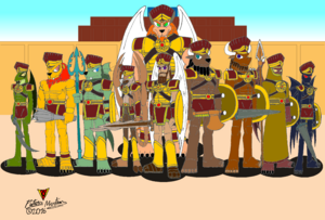 Immortal World Warriors 3-6 Mesopotamia