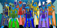 7 Sea Star Warriors