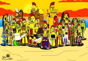 Mythical Warriors of Sparta