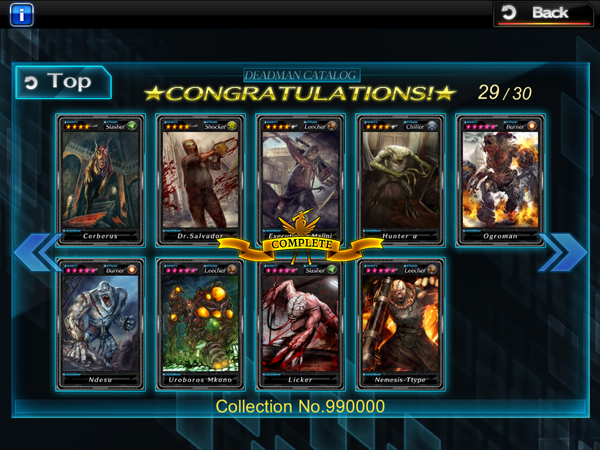 Collection No. 990000 - Complete