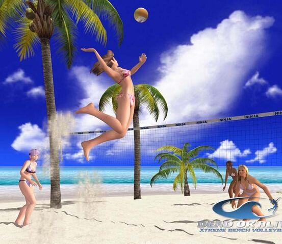 File:DOAXBV TinaLisaHitomiAyane Volleyball.jpg