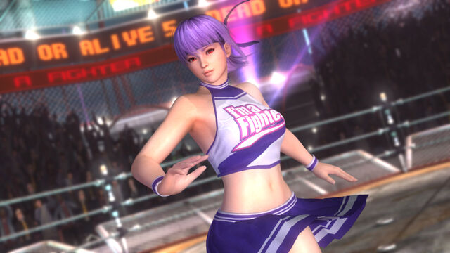 File:DOA5 Ayane Cheerleader.jpg