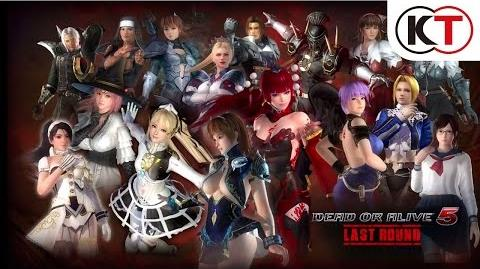 DEAD OR ALIVE 5 LAST ROUND - DECEPTION COSTUME TRAILER