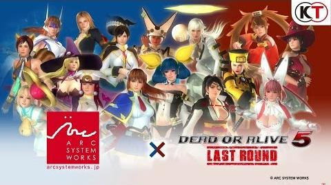 DEAD OR ALIVE 5 LAST ROUND ARC SYSTEM WORKS MASHUP!-0