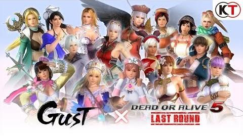 DEAD OR ALIVE 5 LAST ROUND - GUST MASHUP COSTUME TRAILER