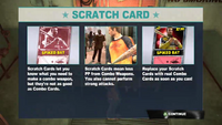 Dead rising 2 case 0 scratch card info screen