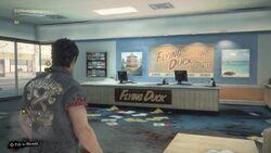 Inside Flying Duck 1