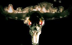 Dead rising Burning Skull
