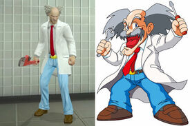 Dr. Wily costume Case West