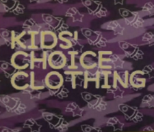 Kids' Choice Clothing PP Sign