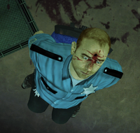 Dead rising fortune city arena security room dead officer