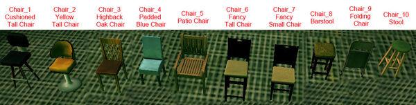 Dead rising 10 chairs