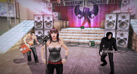 Dead rising 2 rock heroes on stage (6)