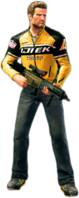 Dead rising merc assault rifle holding
