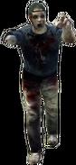 Dead rising zombies backwards cap one-armed scorpion fan