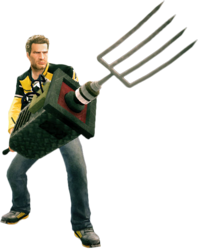 Dead rising auger holding