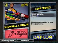 Dead rising 2 combo card Snowball Cannon