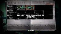 Dead rising case 2-1 codes have been entered