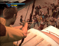 Dead rising case 0 bow and arrow on van quarantine zone