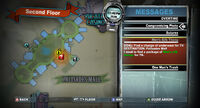 Dead rising Overtime (Off the Record) Men's Silk Thong map