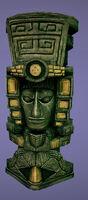 Dead rising stone statue