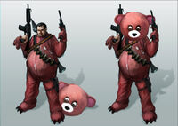 Dead rising 2 Off the Record concept art from main menu art page cliff rockfoot posters teddy bear
